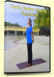 4th Chakra Healing Meditation, Yoga Chest Lift Pose