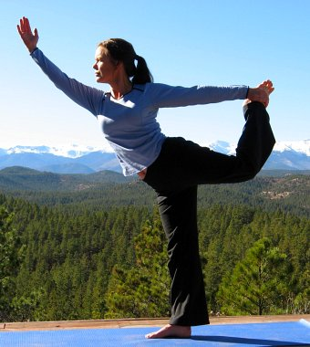 Yoga Dancer's Pose