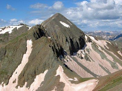 Jones Peak, San Juan Mountans, Colorado