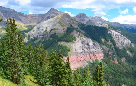 San Juan Mountains near Telluride, C