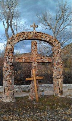 The Crosses at the Santuario de Chimayo, Chimayo, NM