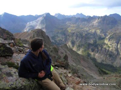 Vestal Peak's South Face