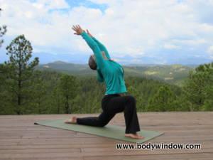 Low Crescent Yoga Pose