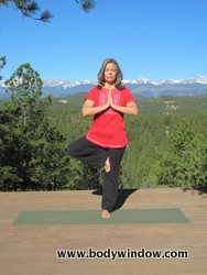 Tree Pose, foot to thigh