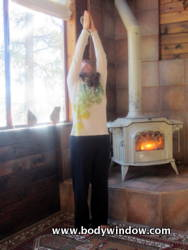 Upward Salute Yoga Pose